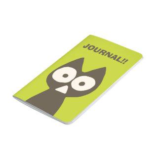 Matcha grüne Brown Dreieck-Katze Taschennotizbuch