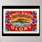 matchbox Englands glory Poster