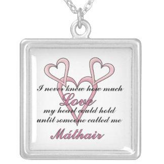 Máthair (ich wusste nie), Halskette Mutter Tages