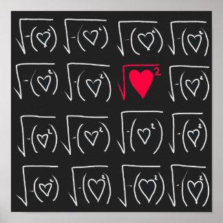 Mathe-Aussenseiter Romance: finden Sie wirkliche Poster