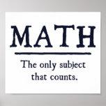 Mathe das einzige Thema, das zählt