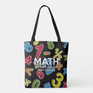 Mathe. Das einzige Thema, das zählt Tasche