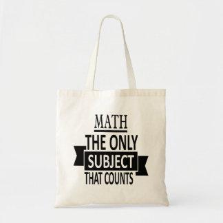 Mathe. Das einzige Thema, das zählt. Tragetasche