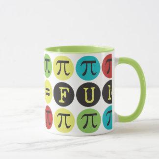 Mathe entspricht Spaß - buntem Mod-PU - lustiger Tasse