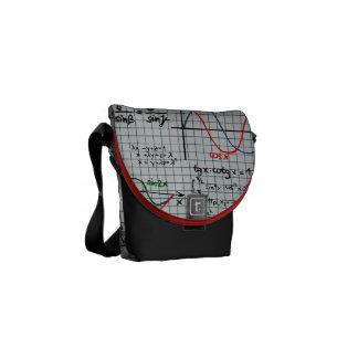 Mathe-Formel-Zahl-Bote-Tasche Kurier Tasche