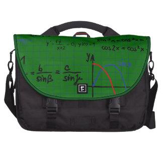 Mathe-Formel-Zahl-Laptop-Tasche Laptop Taschen