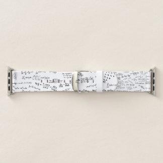 Mathe-Formeln und Zahlen Apple Watch Armband