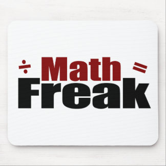 Mathe-Freak Mauspad