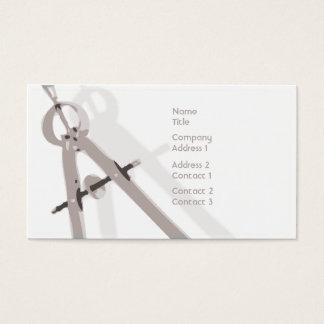 Mathe - Geschäft Visitenkarte