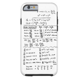 Mathe-Gleichungs-Spickzettel iPhone 6 Fall Tough iPhone 6 Hülle