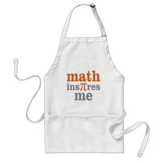 Mathe InPIres ich Schürze