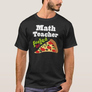 Mathe-Lehrer-(lustige) Pizza T-Shirt