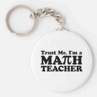 Mathe-Lehrer Schlüsselanhänger