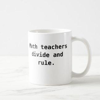 Mathe-Lehrer-Tasse - Verteilungs-und Kaffeetasse