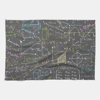 Mathe-Lektionen Handtücher