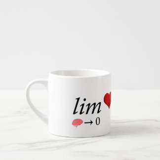 Mathe-Liebe Espressotasse