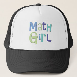 Mathe-Mädchen Truckerkappe
