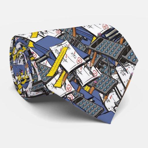Mathe, Personalisierte Krawatte
