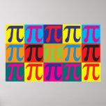 Mathe-Pop-Kunst Plakatdrucke