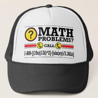 Mathe-Privatunterricht-Spaß-Geschenk Truckerkappe