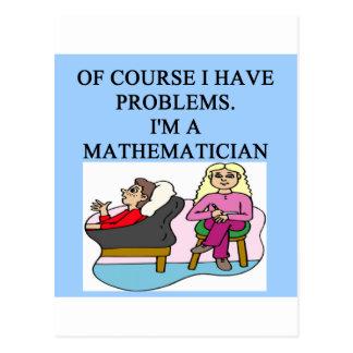 MATHE-Psychologiewitz Postkarte