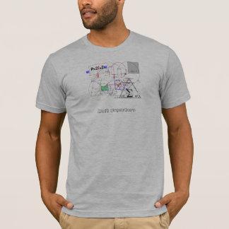 Mathe-Superheld-Gewohnheits-T-Stück T-Shirt