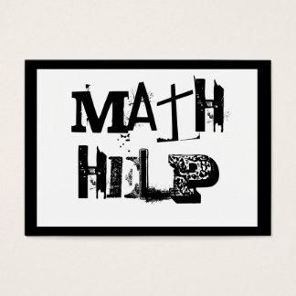 Mathe-Tutor 5 Visitenkarte