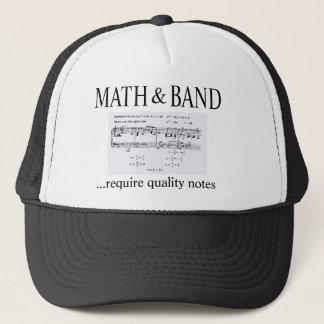 Mathe und Bandrevision Truckerkappe