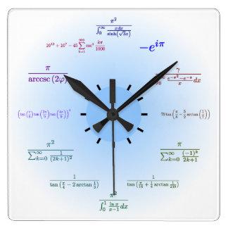 Mathe-Wanduhr Uhr