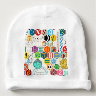 Mathe (weiß) babymütze
