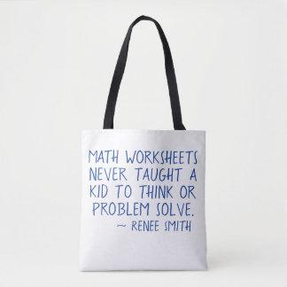 Mathearbeitsblätter unterrichteten nie eine tasche