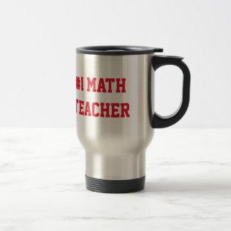 Mathelehrer-Anerkennungs-individueller Name der Edelstahl Thermotasse