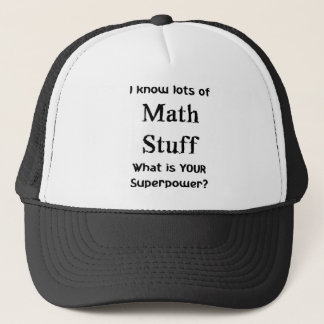 Mathematerial Truckerkappe