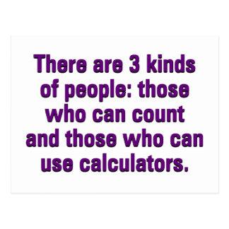 Mathematik kann Ihre Fähigkeit verbessern zu Postkarte