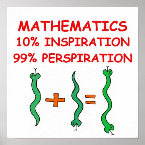 Mathematik Plakatdruck