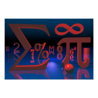 Mathematik Poster