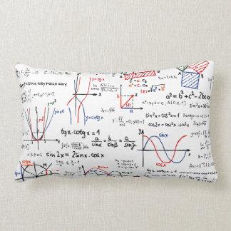 Mathematik-Spickzettel-Kissen Zierkissen