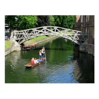 Mathematische Brücke, Cambridge Postkarte