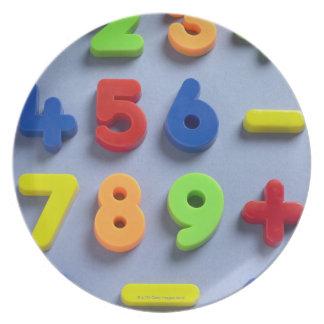Mathematische Magneten Flache Teller