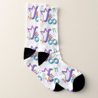 """""""Mathematische Symbole """" Socken"""