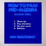 Matheplakat Plakatdruck