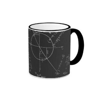 Mathetafel Kaffeetassen