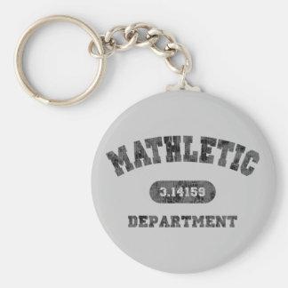 Mathletic Abteilung Standard Runder Schlüsselanhänger