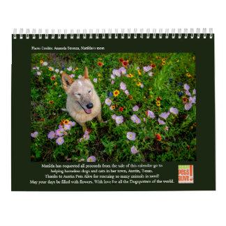 Matilda und die Blumen Kalender