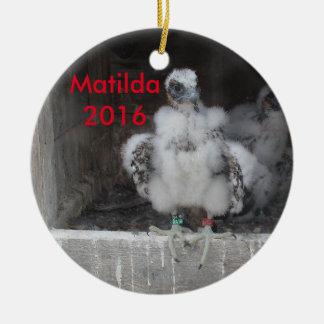 Matilda Verzierung 2016 Keramik Ornament