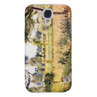 Matin ein Eragny durch Camille Pissarro Galaxy S4 Hülle