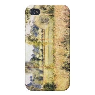 Matin ein Eragny durch Camille Pissarro iPhone 4 Etui