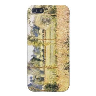 Matin ein Eragny durch Camille Pissarro iPhone 5 Schutzhüllen