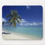 Matira Strand auf der Insel von Bora Bora, Mauspad