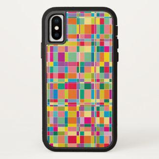 Matrix quadriert iPhone x hülle